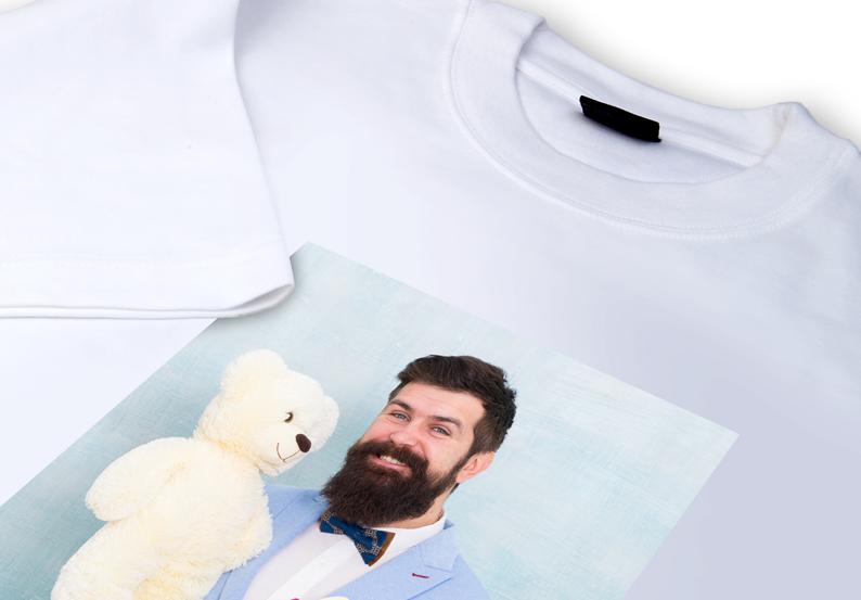 Fotogeschenk T-Shirt mit Foto