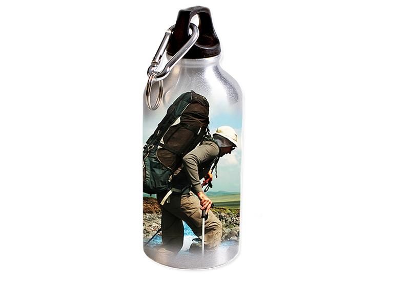 Trinkflasche mit Foto gestalten