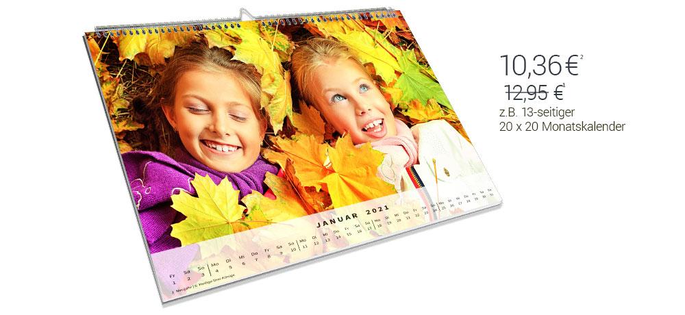 Kalender bestellen online gestalten